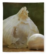 G Is For Garlic Fleece Blanket