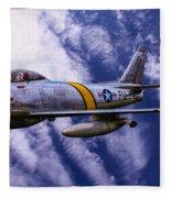 Gabby's F-86e Fleece Blanket