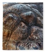 Galapagos Tortoise Shell Fleece Blanket
