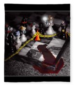 Game - Chess - It's Only A Game Fleece Blanket
