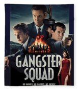 Gangster Squad Fleece Blanket