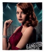 Gangster Squad  Stone Fleece Blanket