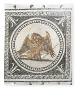 Ganymede Carried Off By Zeus Fleece Blanket