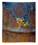 Garbage Can Abstract Fleece Blanket