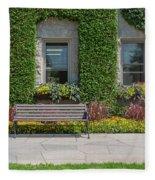 Garden At Niagara Parks School Fleece Blanket