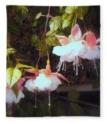 Garden Ballerinas Fleece Blanket