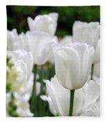 Garden Beauty Fleece Blanket