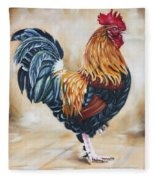 Garden Center's Rooster Fleece Blanket