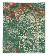 Garden City Kansas Fleece Blanket