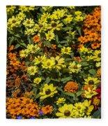 Garden Colors Fleece Blanket
