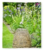Garden Decoration Fleece Blanket