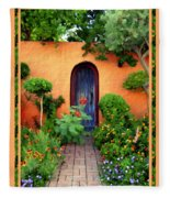 Garden Delights Mesilla Fleece Blanket