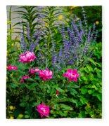 Garden Delights Fleece Blanket