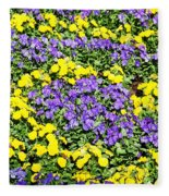 Garden Design Fleece Blanket