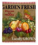 Garden Fresh-jp2386 Fleece Blanket