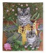 Garden Helpers  Fleece Blanket