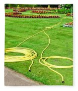 Garden Hosepipes Fleece Blanket
