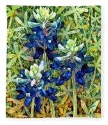 Garden Jewels I Fleece Blanket