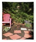 Garden Of One Fleece Blanket