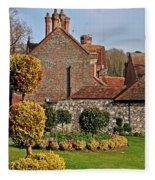 Garden Of Winchester Fleece Blanket