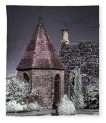 Garden Outbuilding Fleece Blanket