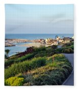 Garden Overview - Lyme Regis Fleece Blanket