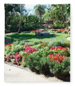 Garden Park Fleece Blanket