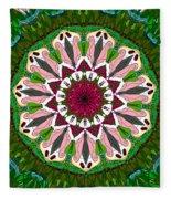 Garden Party #2 Fleece Blanket
