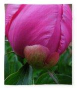 Garden Peony June Joy  Fleece Blanket