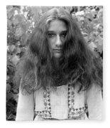 Garden Portrait 1979 Fleece Blanket