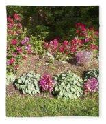 Garden Splender Fleece Blanket