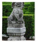 Garden Statue Fleece Blanket