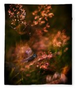 Garden Stories Viii Fleece Blanket