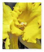 Garden Sun Fleece Blanket