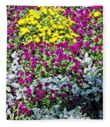 Garden Variety Fleece Blanket