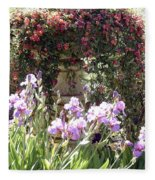 Gardens At Caesars Fleece Blanket