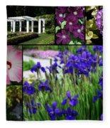Gardens Of Beauty Fleece Blanket