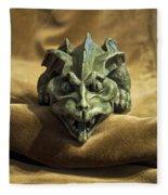 Gargoyle Or Grotesque Fleece Blanket