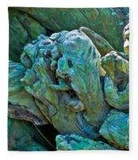 Gargoyles In Mangrove Fleece Blanket