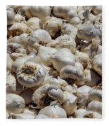 Garlic Harvest Fleece Blanket