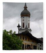 Garmisch Partenkirchen  Fleece Blanket