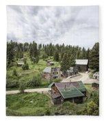 Garnet Ghost Town - Montana Fleece Blanket