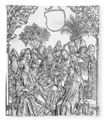 Gart Der Gesuntheit, 1485 Fleece Blanket
