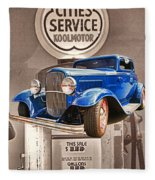 Gasoline Alley Fleece Blanket