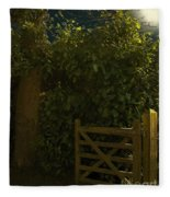 Gate To Nowhere Fleece Blanket