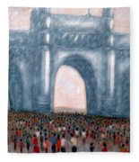 Gateway Of India Mumbai 2 Fleece Blanket