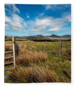 Gateway To The Mountains Fleece Blanket