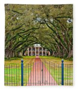 Gateway To The Old South Fleece Blanket