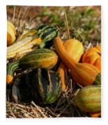 Gather The Harvest Fleece Blanket