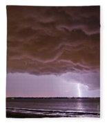 Gathering Clouds Fleece Blanket